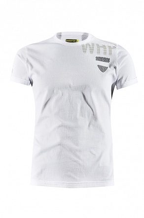 RESEARCH SS BD ASH T-SHIRT GIROCOLLO BIANCO/PIOMBO